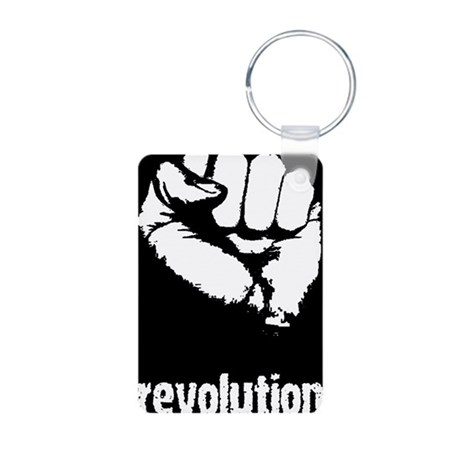 Fist Aluminum Photo Keychain