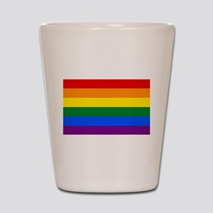 Gay Pride Shot Glass