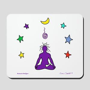 Yogi Electric (purple) Mousepad