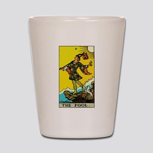 The Fool Tarot Card Shot Glass
