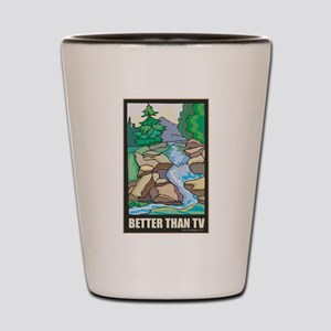 Outdoors Nature Shot Glass