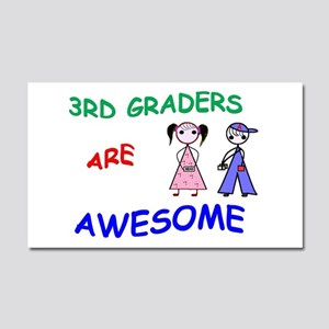 3RD GRADERS ARE AWESOME Car Magnet 20 x 12