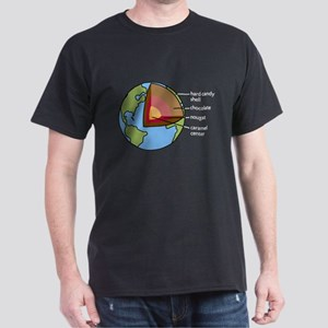 Earth Diagram Dark T-Shirt
