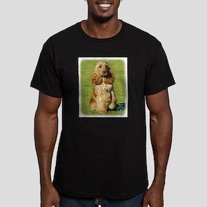 Cocker Spaniel 9P055D-057 Men's Fitted T-Shirt (da