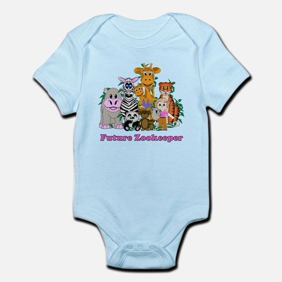 Future Zookeeper Girl Infant Bodysuit