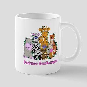 Future Zookeeper Girl Mug