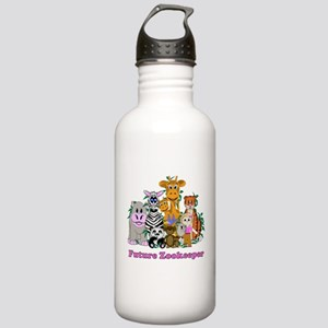 Future Zookeeper Girl Stainless Water Bottle 1.0L