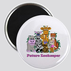 """Future Zookeeper Girl 2.25"""" Magnet (10 pack)"""