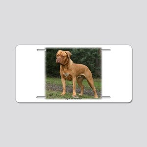 Dogue de Bordeaux 9Y201D-193 Aluminum License Plat