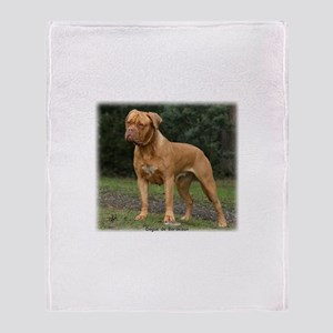 Dogue de Bordeaux 9Y201D-193 Throw Blanket