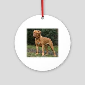 Dogue de Bordeaux 9Y201D-193 Ornament (Round)
