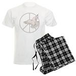 Peace Sign & Dove Men's Light Pajamas