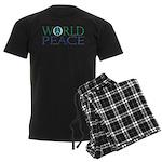 World Peace Men's Dark Pajamas