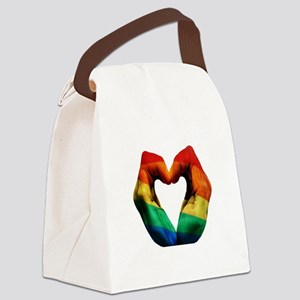 FEEL THE HARMONY Canvas Lunch Bag