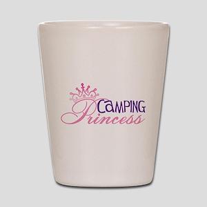 CAMPING PRINCESS Shot Glass