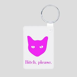 Cats & lols Aluminum Photo Keychain