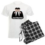 Gay Wedding Men's Light Pajamas