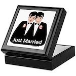 Gay Wedding Keepsake Box