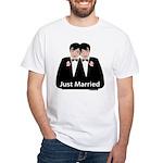 Gay Wedding White T-Shirt