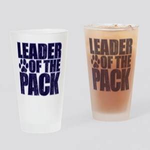 LEADER OF THE PACK Drinking Glass