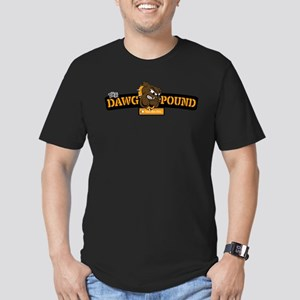the Dawg Pound Men's Fitted T-Shirt (dark)