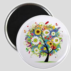summer tree Magnet