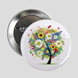 "summer tree 2.25"" Button"
