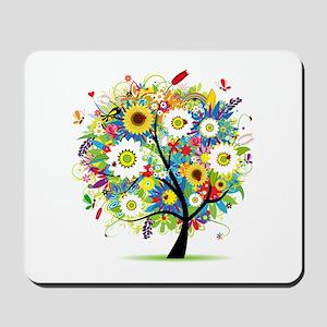 summer tree Mousepad