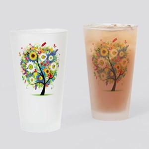 summer tree Drinking Glass