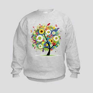 summer tree Kids Sweatshirt