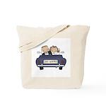 Bride & Groom Just Married Tote Bag