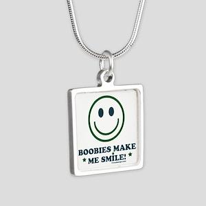 Boobies Make Me Smile Necklaces