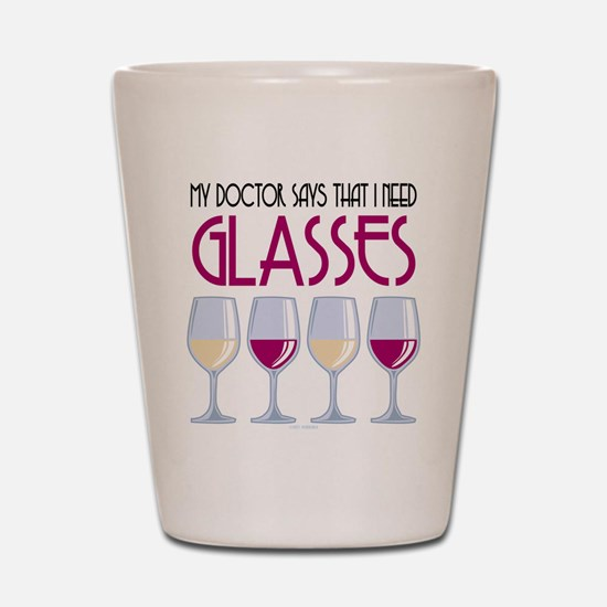 Wine Glasses Shot Glass
