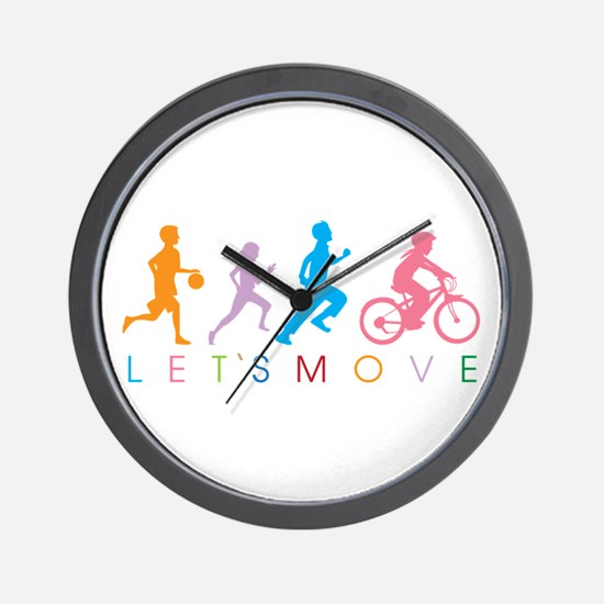 Cute Jogging Wall Clock