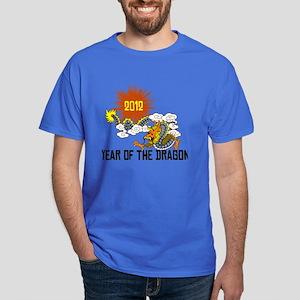 Chinese Zodiac Year of The Dragon 2012 Dark T-Shir
