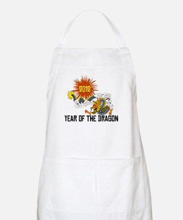 Chinese Zodiac Year of The Dragon 2012 Apron