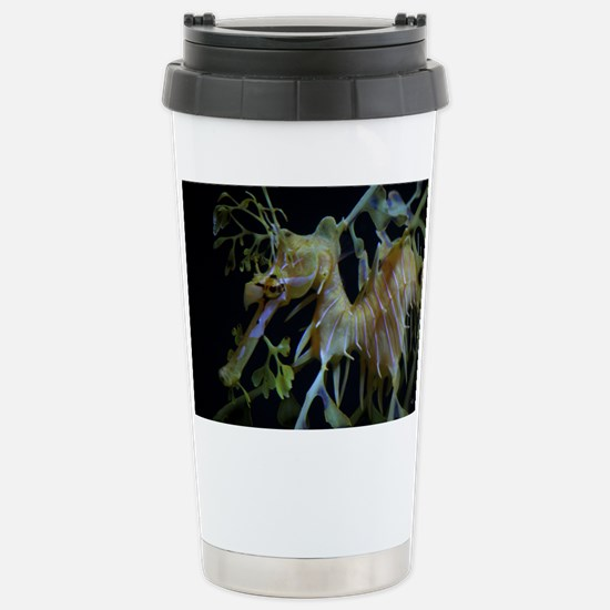 Leafy Close Up Stainless Steel Travel Mug