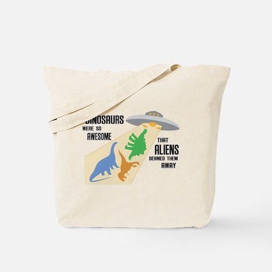 Cute Apatosaurus Tote Bag