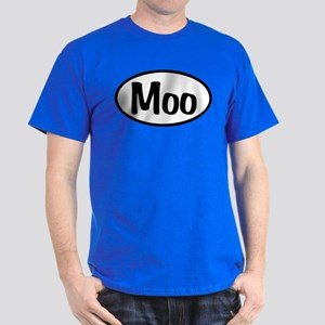 Moo Oval Dark T-Shirt