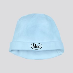Moo Oval baby hat