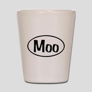 Moo Oval Shot Glass