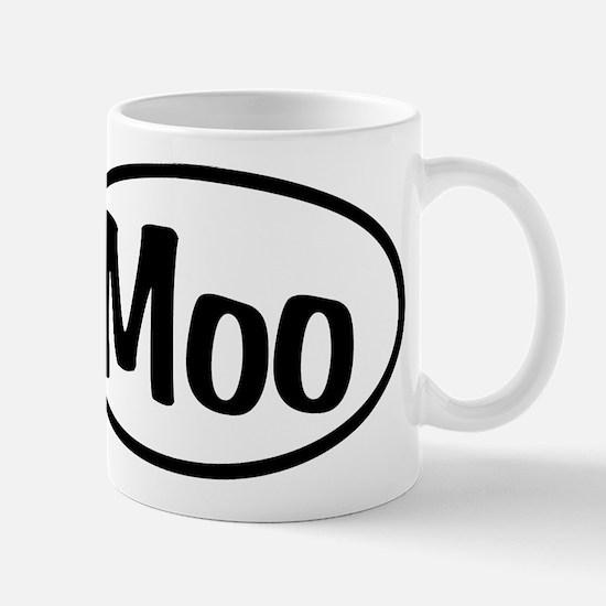 Moo Oval Mug