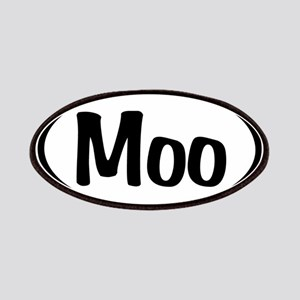 Moo Oval Patches