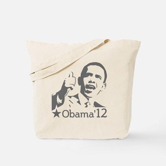 Obama'12 Tote Bag