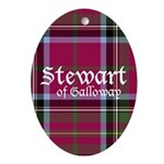 Stewart of Galloway Ornament (Oval)