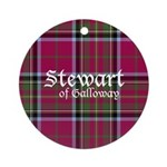 Stewart of Galloway Ornament (Round)