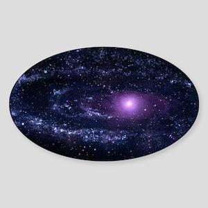 Andromeda Sticker (Oval)