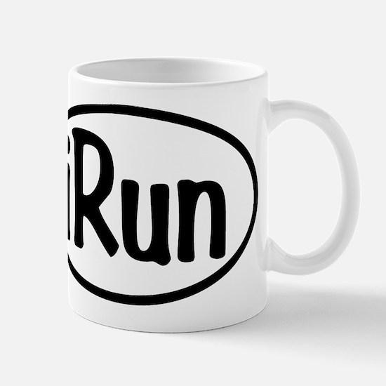 iRun Oval Mug