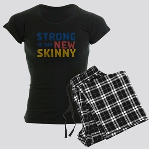 Strong is the New Skinny Women's Dark Pajamas
