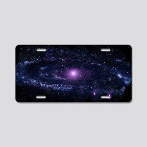 Andromeda Aluminum License Plate